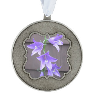 Campanulaの園芸植物の花の青 オーナメント