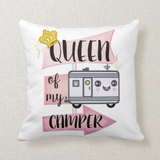 Camper Camping Funny RVing Lifestyle Pillow クッション