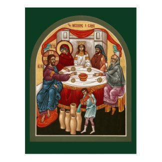 Canaの祈りの言葉カードの結婚 ポストカード
