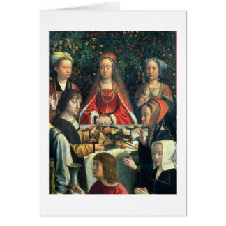 Canaの花嫁およびsurrの詳細の結婚 カード