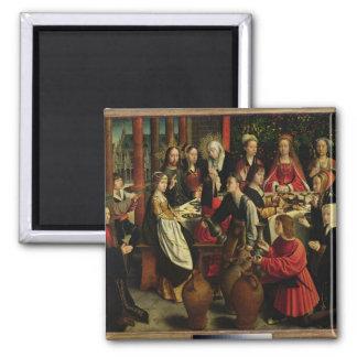 Cana、c.1500-03の結婚の饗宴 マグネット
