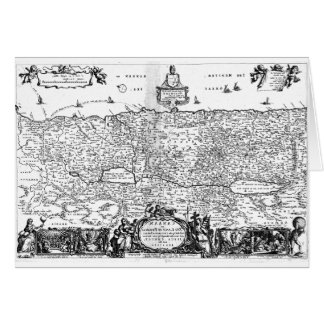 Canaanの地図 グリーティングカード