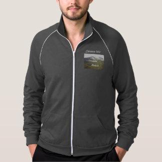 Canaanの谷のスキーフリース ジャケット