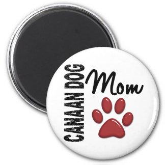 Canaan犬のお母さん2 マグネット