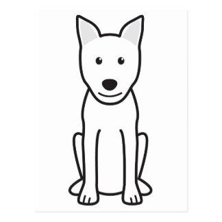 Canaan犬の漫画 ポストカード