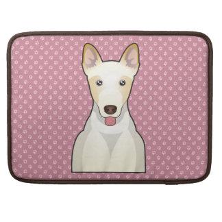 Canaan犬の漫画 MacBook Pro用スリーブ