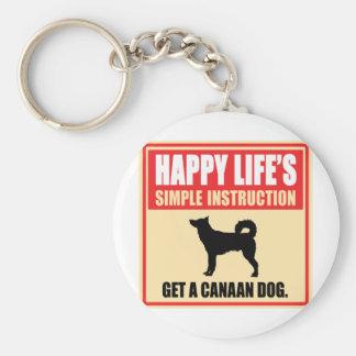 Canaan犬 キーホルダー
