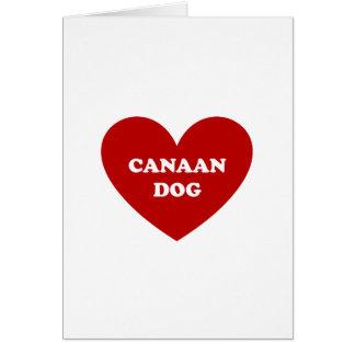 Canaan犬 グリーティングカード