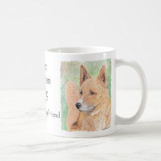 Canaan犬 コーヒーマグカップ