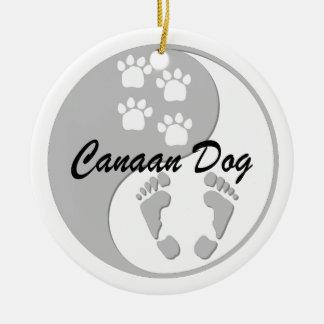 Canaan犬 セラミックオーナメント