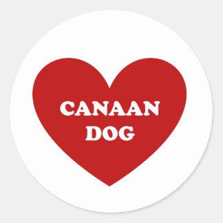 Canaan犬 ラウンドシール