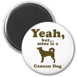 Canaan犬 冷蔵庫マグネット