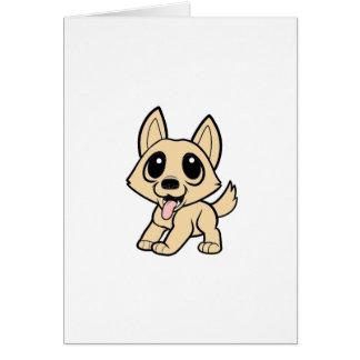 canaan犬cartoon.png グリーティングカード
