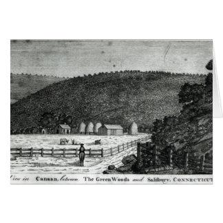 Canaan、コネチカットの農場 カード