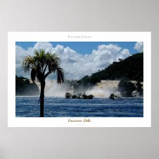 Canaimaの滝 ポスター