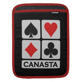 CanastaPlayerのカスタムなラップトップ/iPadの袖 iPadスリーブ