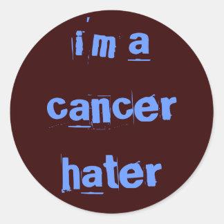 cancerhater ラウンドシール