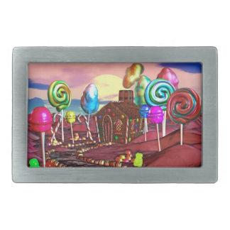 Candyland 長方形ベルトバックル
