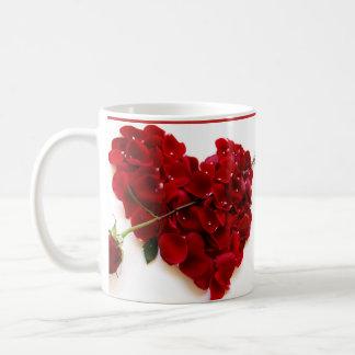 canecaのvermelha eのbranco コーヒーマグカップ