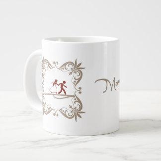 Canecaパラグラフのcasamento ジャンボコーヒーマグカップ