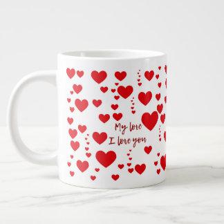 Caneca愛 ジャンボコーヒーマグカップ
