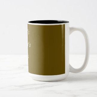 CANECA DE CAFE? + コーヒー ツートーンマグカップ