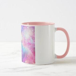 Caneca Galáxia comのdetalheローザ マグカップ