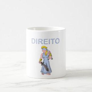 Caneca Profissões Direito II コーヒーマグカップ