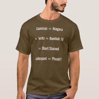 Canisius =ナイアガラ= 「ucks = Numbah 10= Shart S… Tシャツ