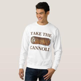 Cannoliのイタリア人のCannolisのスエットシャツを取って下さい スウェットシャツ