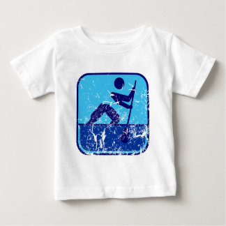 Canoeing_flatwater_dd_used.png ベビーTシャツ