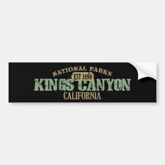 Canyon王の国立公園 バンパーステッカー