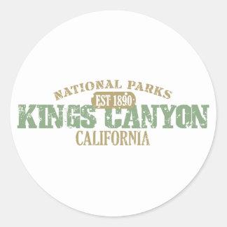 Canyon王の国立公園 ラウンドシール