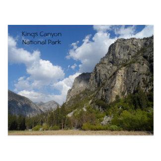 Canyon Zumwalt草原王の国立公園 ポストカード