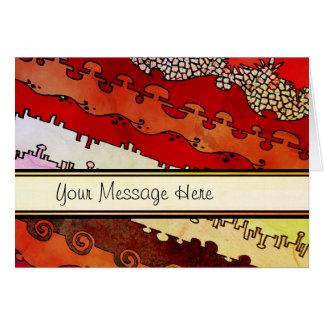 Canyonlandsの原住民のあなたの単語 カード