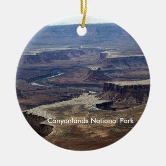 Canyonlandsの国立公園のオーナメント セラミックオーナメント