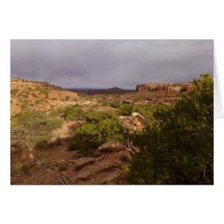 Canyonlandsの国立公園の首の春の道 カード