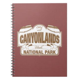 Canyonlandsの国立公園 ノートブック