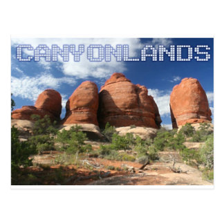 Canyonlandsの国立公園 ポストカード