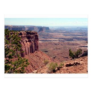 Canyonlandsの国立公園、ユタ、南西米国4 ポストカード