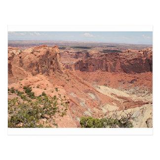 Canyonlandsの国立公園、ユタ、南西米国6 ポストカード