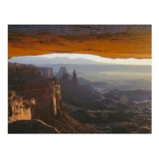 CANYONLANDSの国立公園、ユタ。 米国. 眺め ポストカード