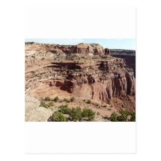 Canyonlandsユタ ポストカード