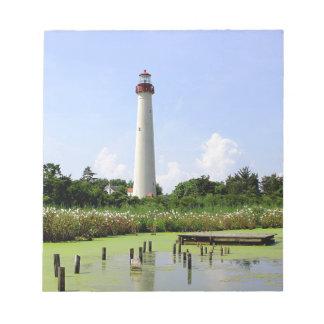 Cape Mayの灯台 ノートパッド
