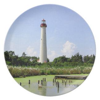 Cape Mayの灯台 プレート
