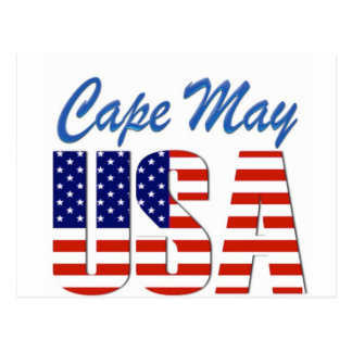 Cape May米国4.png ポストカード