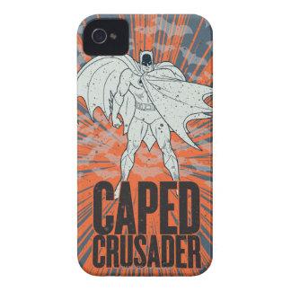 Capedのクルセーダーのグラフィック Case-Mate iPhone 4 ケース
