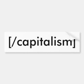 [/capitalism] バンパーステッカー