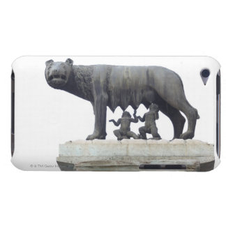 Capitolineのオオカミの彫像(彼女オオカミの乳児)、 Case-Mate iPod Touch ケース