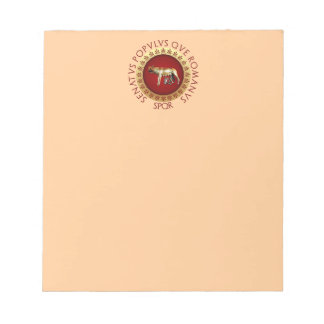 Capitolineのオオカミ ノートパッド